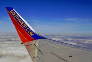 Southwest Airlines announces service to Turks and Caicos - Southwest.com on a wing of a plane