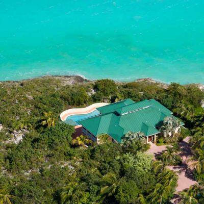 Emerald Shores Estate Main House Aerial View