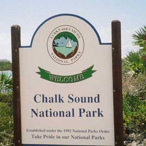 Chalk-Sound-National-Park-sign