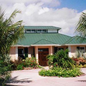 Emerald Shores Circular Driveway at Main House