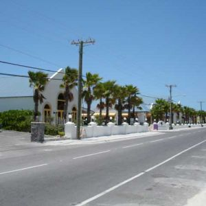 Shopping Plaza on Turks and Caicos